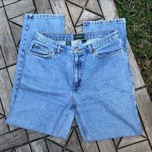 Lauren Ralph Lauren Mom High Waisted Jeans size 12